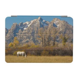 白馬、秋、壮大なTetons iPad Miniカバー