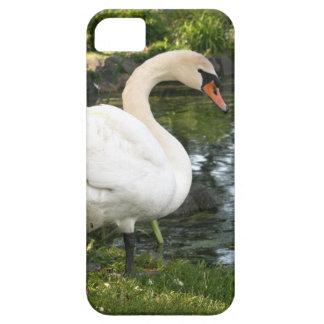 白鳥のやっとそこにiPhone 5/5Sの場合 iPhone SE/5/5s ケース