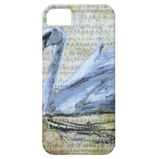 白鳥のノート iPhone SE/5/5s ケース
