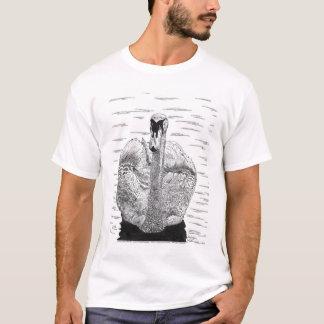 白鳥のペンとインクのスケッチ Tシャツ