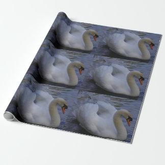 白鳥の包装紙 ラッピングペーパー