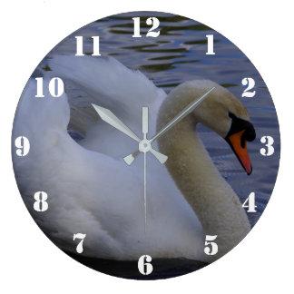 白鳥の時計 ラージ壁時計