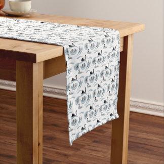 白鳥の逆上のテーブルのランナー(色を選んで下さい) ショートテーブルランナー