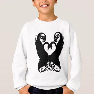 白鳥の黒 スウェットシャツ