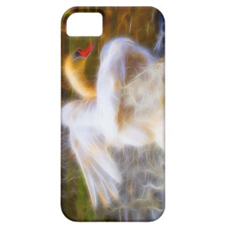 白鳥のiPhone 5/5Sの場合 iPhone SE/5/5s ケース