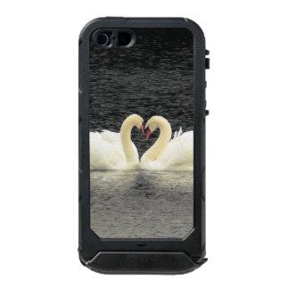 白鳥のiPhone SE/5/5S Incipioの地図書ID ウォータープルーフiPhone SE/5/5sケース