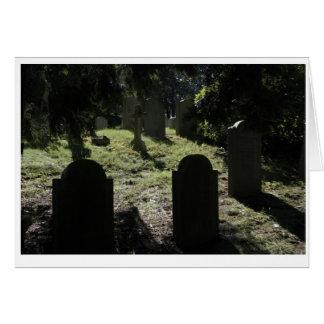 白鳥ポイント墓地の挨拶状 カード