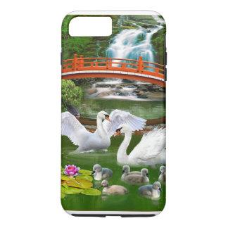 白鳥家族 iPhone 8 PLUS/7 PLUSケース