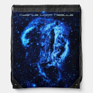 白鳥座のループ星雲の宇宙の写真 ナップサック
