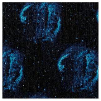 白鳥座のループ星雲の紫外イメージ ファブリック
