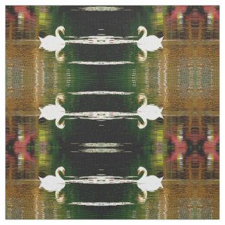 白鳥色の波 ファブリック