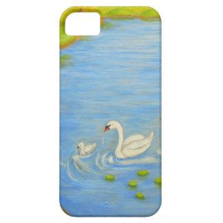 白鳥 iPhone SE/5/5s ケース