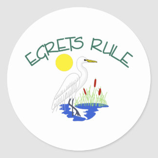 白鷺の規則 ラウンドシール