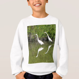 白鷺パートナー スウェットシャツ