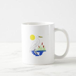 白鷺場面 コーヒーマグカップ