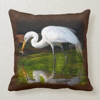 白鷺3のイメージの選択枕 クッション