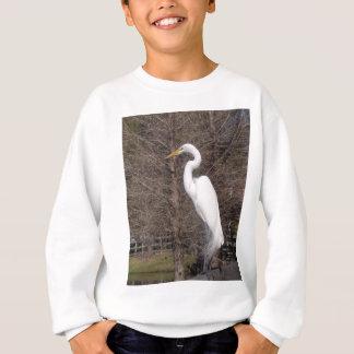 白鷺 スウェットシャツ