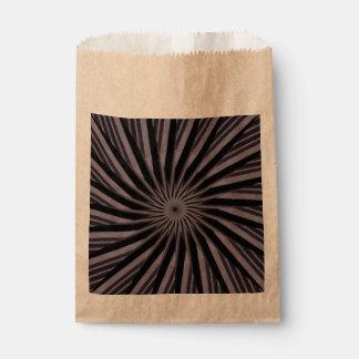 白黒および灰色の渦巻形のなテンプレートの抽象美術 フェイバーバッグ