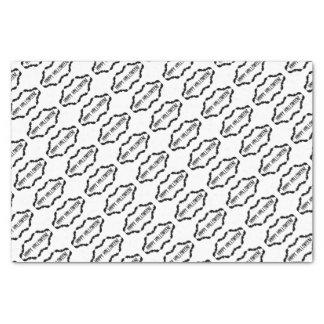 白黒こうもりフレーム 薄葉紙