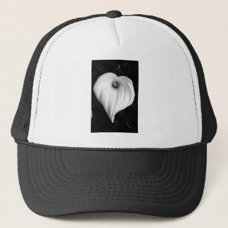 白黒のオランダカイウユリ キャップ