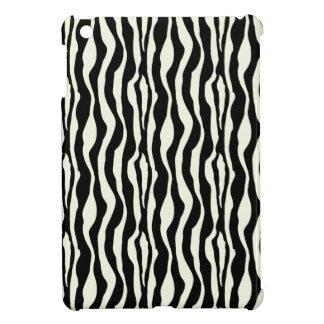 白黒のシマウマパターン iPad MINI CASE