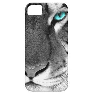 白黒のトラ iPhone SE/5/5s ケース
