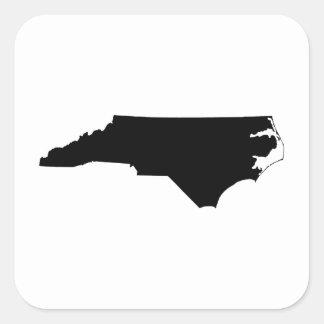 白黒のノースカロライナ スクエアシール