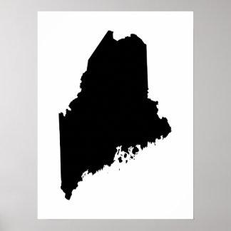 白黒のメイン ポスター
