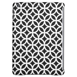 白黒の幾何学的なiPadの空気箱
