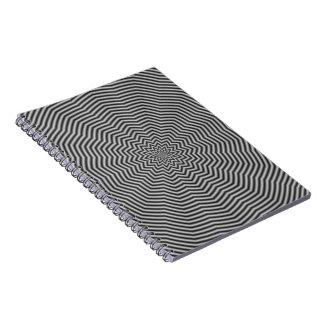 白黒の星のさざ波 ノートブック