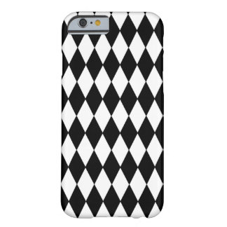 白黒の道化師パターン BARELY THERE iPhone 6 ケース