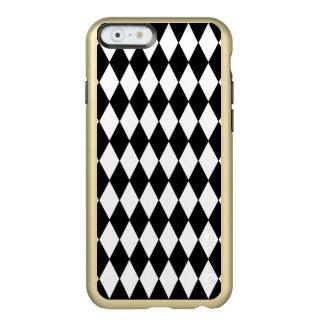 白黒の道化師パターン INCIPIO FEATHER SHINE iPhone 6ケース