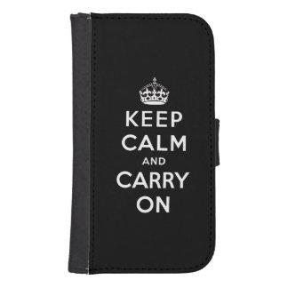 白黒のKeep Calm and Carry On