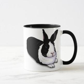 白黒ウサギ マグカップ