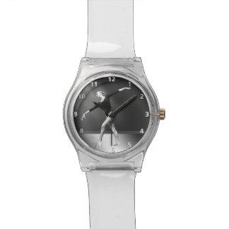 白黒カスタマイズ可能のバレリーナ 腕時計