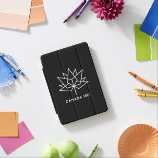 白黒カナダ150の役人のロゴ- iPad MINIカバー