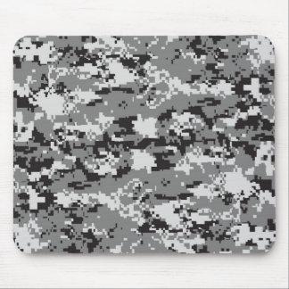 白黒カムフラージュ マウスパッド