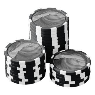 白黒カモシカ渓谷 ポーカーチップセット