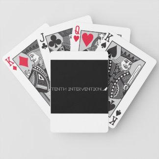 白黒カードを-遊ぶ第10介在 バイスクルトランプ