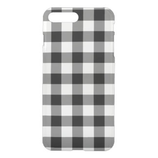 白黒ギンガムパターン iPhone 8 PLUS/7 PLUS ケース
