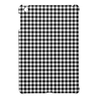 白黒ギンガム iPad MINIケース