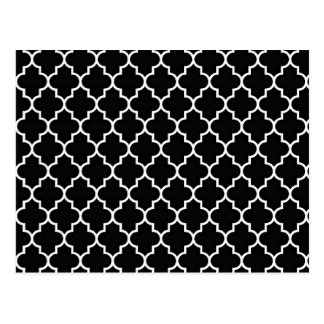 白黒クローバー ポストカード