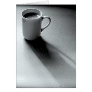 白黒コーヒー カード