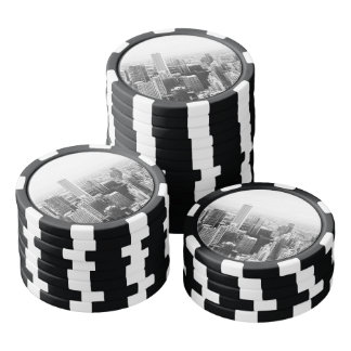 白黒シカゴイリノイ カジノチップ