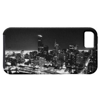 白黒スカイラインの電話箱 iPhone SE/5/5s ケース