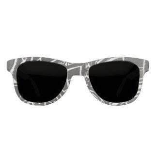 白黒スタイル サングラス