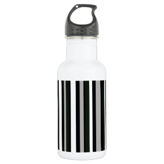白黒ストライブ柄パターン ウォーターボトル
