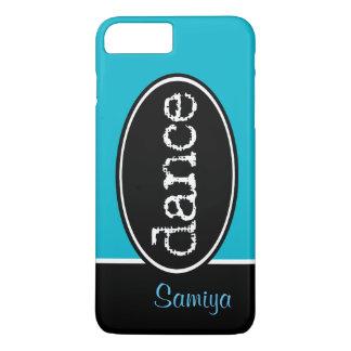 白黒ダンスの楕円形 iPhone 8 PLUS/7 PLUSケース