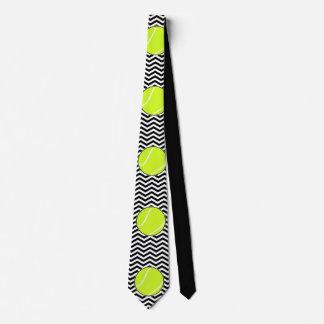 白黒テニス選手またはコーチの首のタイ ネクタイ