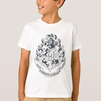 白黒ハリー・ポッターシリーズ| Hogwartsの頂上- Tシャツ